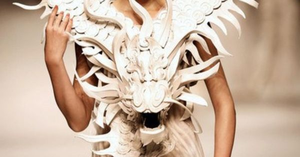 Mother of dragons xuming couture from china fashion for Xuming haute couture