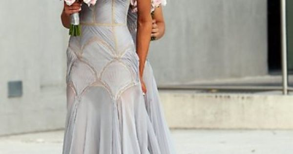 a J'Aton Couture bridesmaid dress- wow