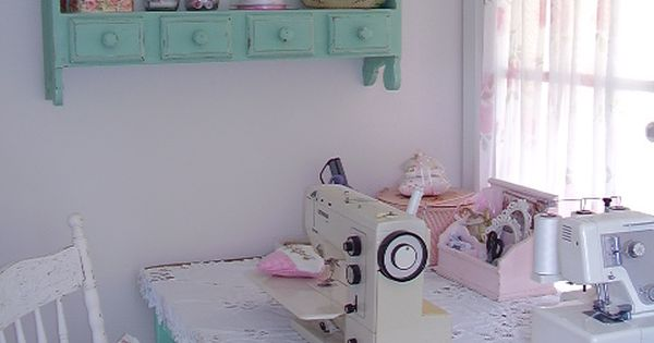 Mariondee designs sewing nook sewing room - Rincon de costura ...