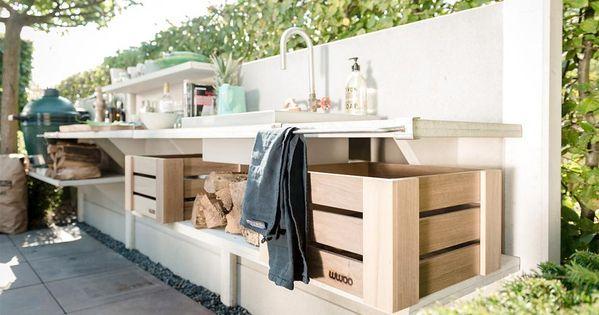 outdoor k chen f r jeden geschmack massive outdoor k che. Black Bedroom Furniture Sets. Home Design Ideas