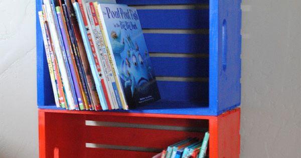 C mo hacer una estanter a infantil barata y original - Estanteria biblioteca infantil ...