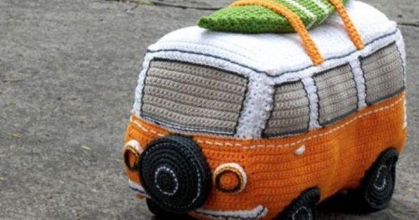 Crochet Volkswagen Bus Free Pattern All The Best Ideas ...