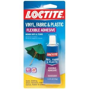 Loctite 1 Fl Oz Vinyl Fabric And Plastic Adhesive 1360694 At The Home Depot Plastic Repair Vinyl Repair Plastic Adhesive