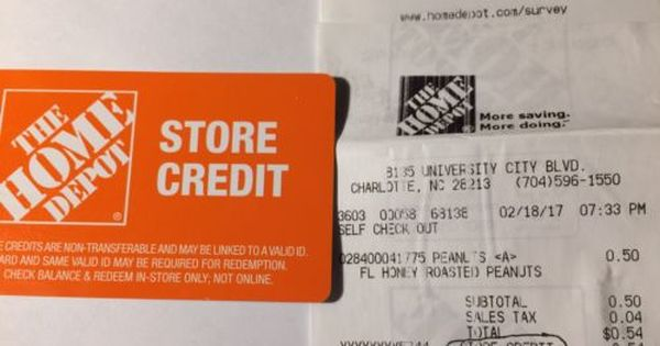 Coupons Giftcards 426 32 Home Depot Store Credit Gift Card For