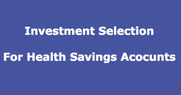 Health Savings Accounts Are A Great Investment Vehicles For