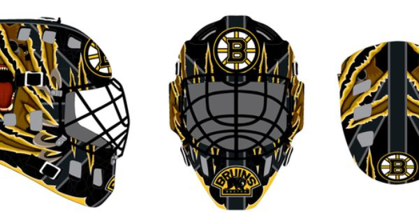 Goalie Mask Boston Bruins Goalie Mask Goalie Mask Goalie Boston Bruins Goalies