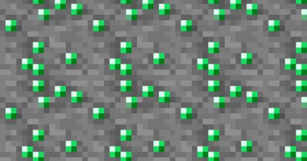 Emerald Minecraft Wallpaper minecraft shaded emerald ore wallpaper by ...