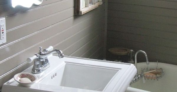 Horizontal Beadboard Master Bathroom Pinterest