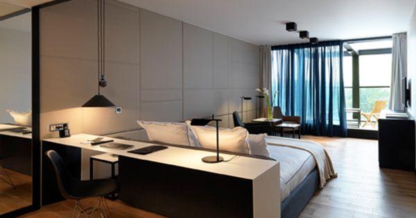 Sense Hotel Sofia Rooms - Design Hotels™  Guestroom  Pinterest  호텔, 침실 ...