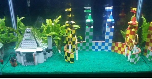 Harry potter themed fish tank fish bowl ideas for Harry potter fish tank
