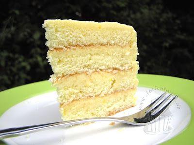 Torte Gefullt Mit Lemon Curd Desserts Food Vanilla Cake