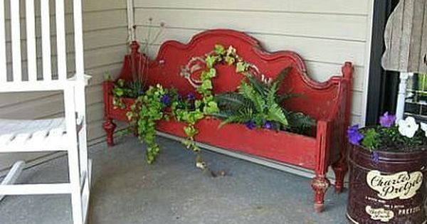 Two Awesome Ideas For Repurposing Old Wood Bed Frames Wood Bed