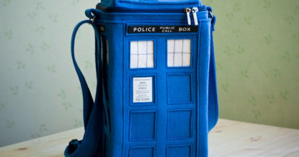 Tardis felt purse. I mean...win.