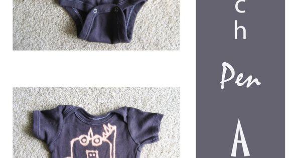 bleach pen designs baby shower idea
