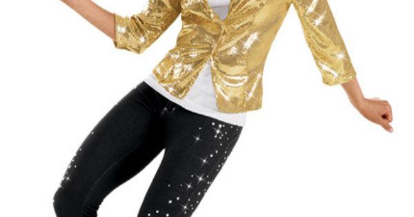 Gold Sequin Blazer Weissman Costumes Clogging Outfits