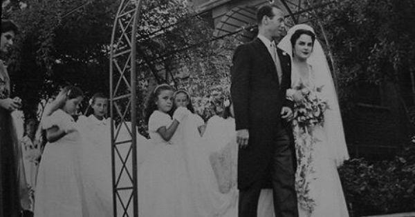 صورة من حفل زفاف الأميرة نيفين عباس حليم و زوجها السيد صلاح العرابي Royal Family Egypt Royal