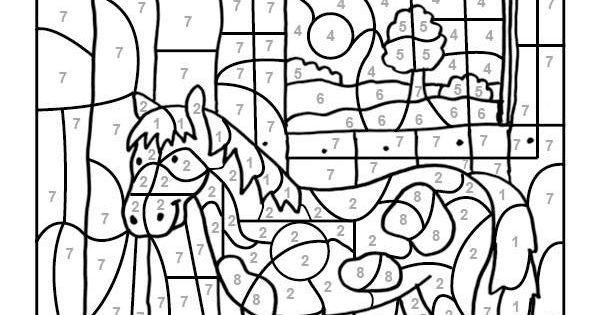 Wenn Ihr Kind Das Ganze Motiv Auf Der Kostenlosen Vorlage Mit Den Farben Ausgemalt Hat Malen Nach Zahlen Kinder Malen Nach Zahlen Ausmalbilder Zum Ausdrucken