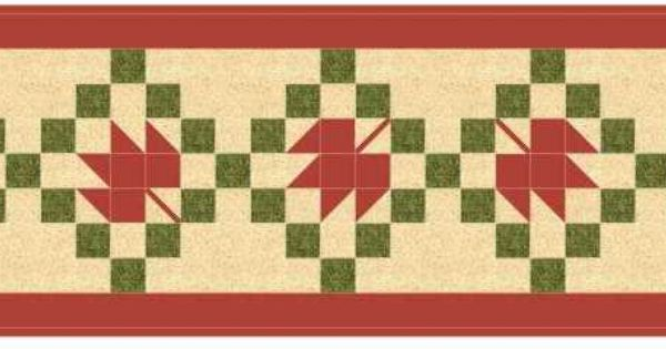 Maple Leaf Quilt Pattern Table Runner : Maple Leaf Quilt Pattern Free Fall Table Runner more Options Marjorie s Quilting Bee ...