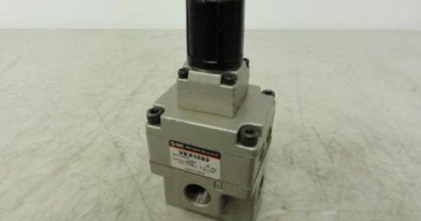 Smc Vex1333 Pressure Regulator 1 0mpa Item Is New Unused No Factory Packaging Austin Surplus Sku 86594 Location Grg R08 P1 Regulators Pressure Industrial