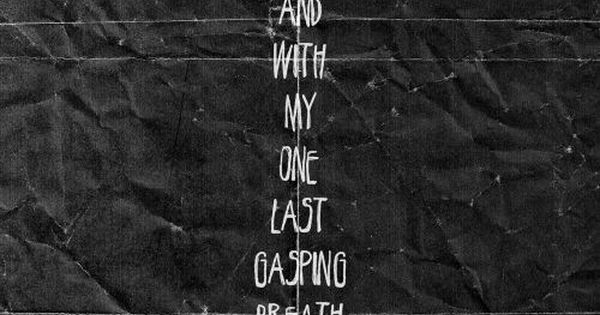 Taking back Sunday lyrics My song. It's pretty much, well ...