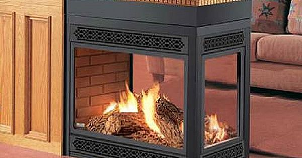 Napoleon Direct Vent Peninsula Bay Front Fireplace Learnshopenjoy Fireplaces Pinterest