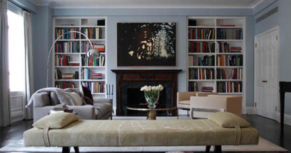 Built In Bookshelves Drool Bookshelves In Living Room