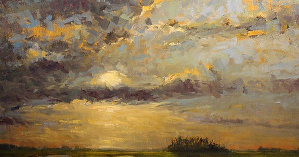"""""""High Tide Sunset"""" by Kevin LePrince, contemporary Chareston, SC artist (Lowcountry art)"""