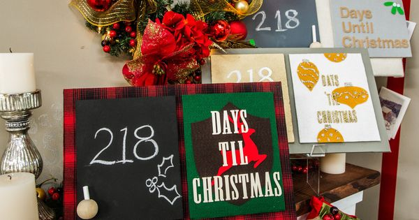 Begin The Countdown To Christmas With @kennethwingardu0027s DIY   Unt  Blackboard  Unt Blackboard