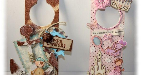 Kids christmas craft ideas find craft ideas - Plaque De Porte Scrap Decoscrap Pinterest