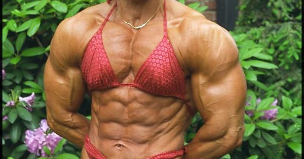 #1 - Christa Bauch #female #muscle | That Muscle Show's
