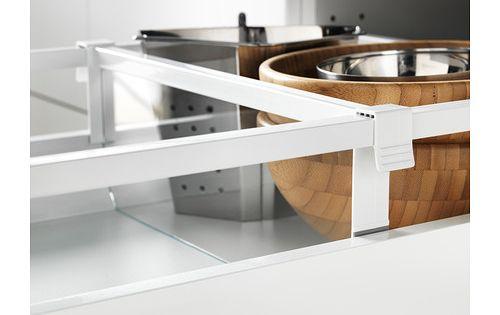Maximera s parateur pour tiroir moyen 40 cm ikea for Separateur tiroir cuisine