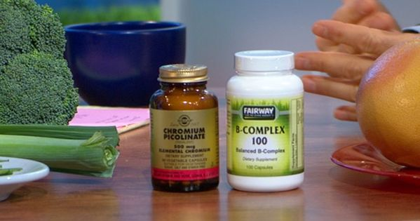 Dr Oz's Sugar Detox: Take Chromium Picolinate (1,000 mg daily) to fight