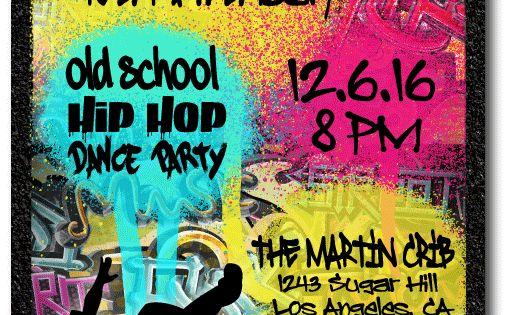 Classroom Event Ideas ~ S hip hop graffiti birthday invitations party