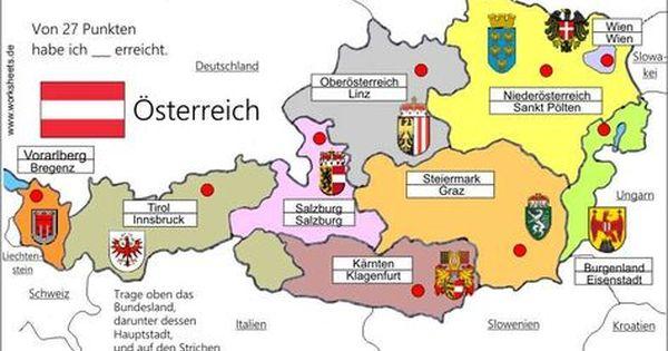 9 Bundeslander Osterreich Austria L Mit Bildern Bundesland