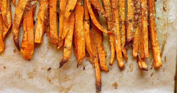 Baked Curry Sweet Potato Fries with Yogurt Dipping Sauce phase 3