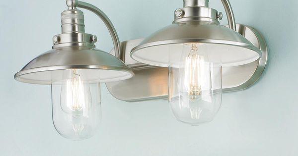 Schooner Bath Light - 2 Light