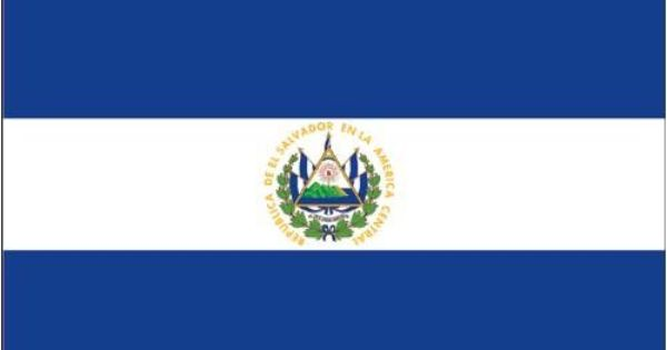 what is the flag of el salvador