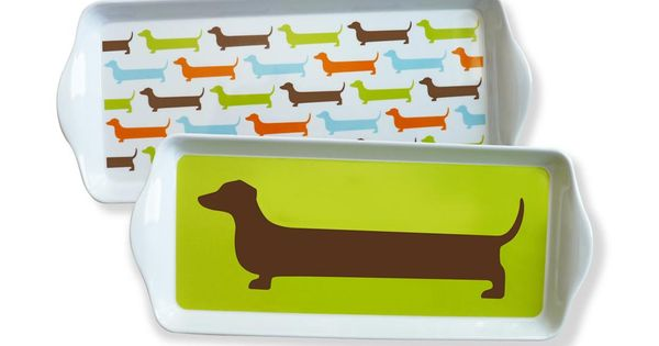 Happy Dachshund Dessert Tray Set by NAKED DECOR zulily zulilyfinds