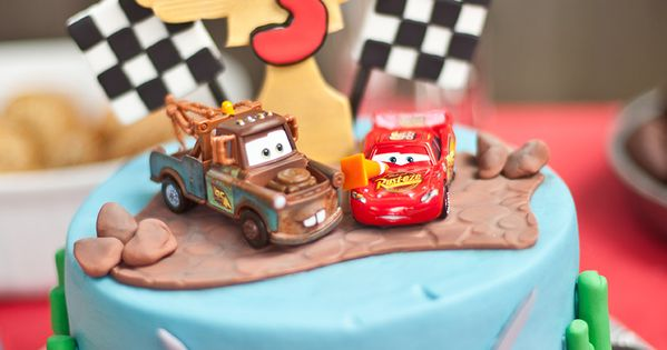 We Heart Parties: Cars Themed 3rd Birthday Party