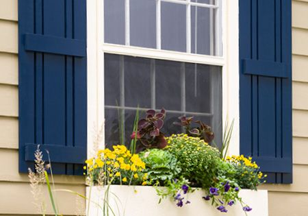 Flank A Window With Decorative Outdoor Shutters You Can