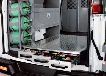 Heavy Duty Aluminum Slide Drawer Floor Storage Units Floor Storage Drawer Units Van Storage Drawer Unit Hvac