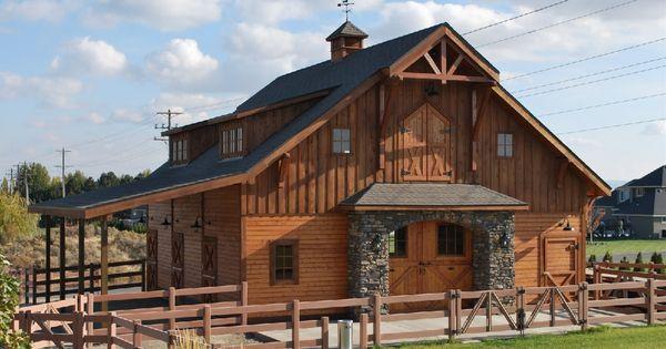 Apartment Barn Plans Horse Barn With Loft Apartment The Denali Barn Apartment