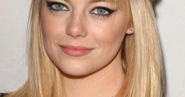 Coloración y cuidado del cabello: rubio nacarado ... Emma Stone