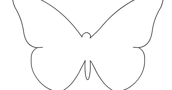 Immagine farfalla per bambini immagini da colorare for Immagini farfalle da ritagliare
