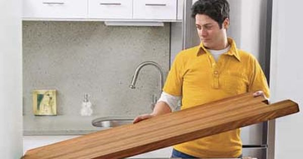 How To Install A Butcher Block Countertop Butcher Block Countertops Wood Countertops Butcher Block Countertops Kitchen