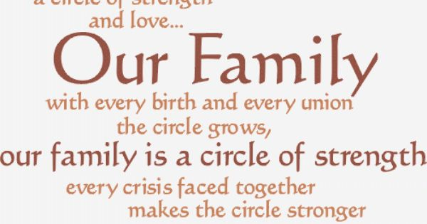 Quotes About Family Strength: Inspirational Quotes About Family -