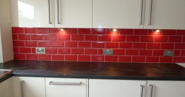 Red Brick Kitchen Wall Tiles Google Search Brick Kitchen Red Kitchen Walls Brick Floor Kitchen