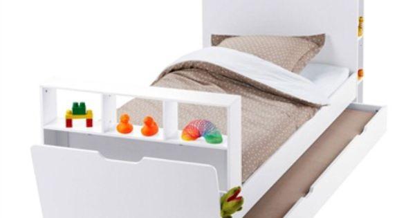 Lit capsule avec tag res laque blanc vertbaudet enfant - Tagesdecke bett 140x200 ...