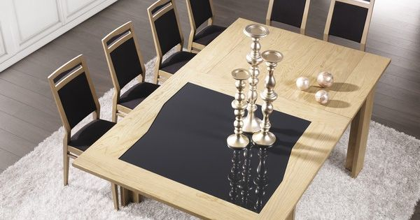 s jour diamente table extensible carr e avec allonge en