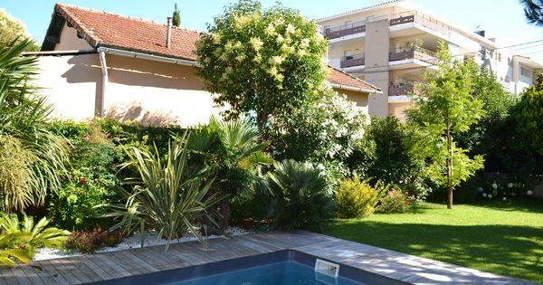 Cr ation d 39 un espace paysager en bord de piscine cr ation for Entretien piscine marseille